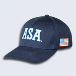 ASA Fitted Mesh Umpire Cap