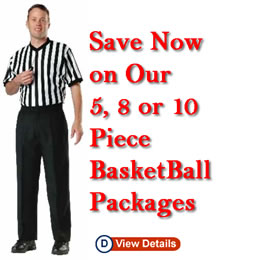 Save on Basketball Referee Packages